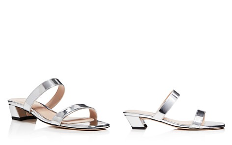 Stuart Weitzman Women's Ava Patent Leather Slide Sandals - Bloomingdale's_2